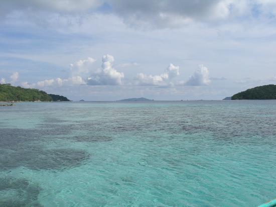 Banana Island: Bulug Dos Island, Coron Island, Palawan, Philippines.