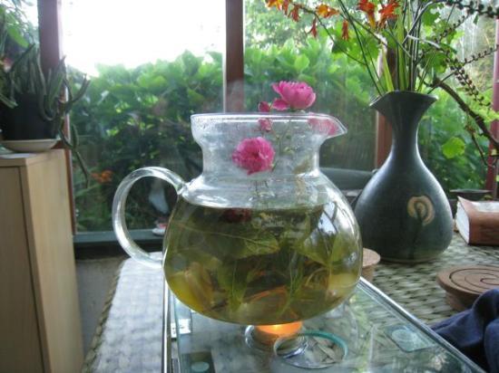 Hagal Healing Farm: Tea of fresh herbs and flowers!