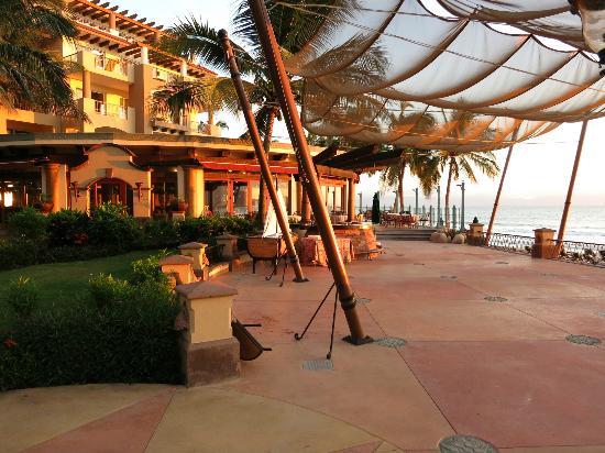 Villa del Palmar Flamingos: Breakfast, lunch and dinner location.