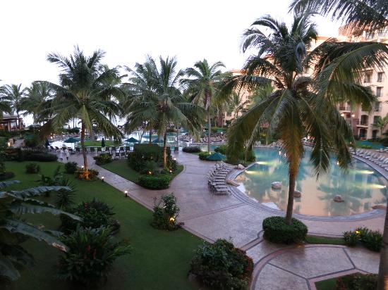 Villa del Palmar Flamingos Beach Resort & Spa Riviera Nayarit: View from 1307... 3rd floor.