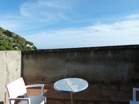 """Hotel La Certosa: """"sea view"""" terrace?"""