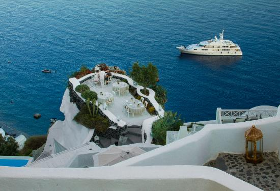 Canaves Oia Hotel: Oia Village Restaurant