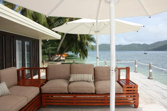 Matangi Private Island Resort: Spa area