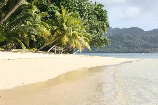Matangi Private Island Resort: Our Beach