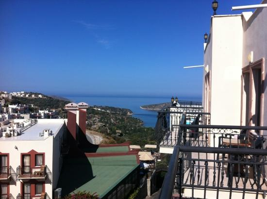 Golden Age Crystal Bodrum: the view from our room