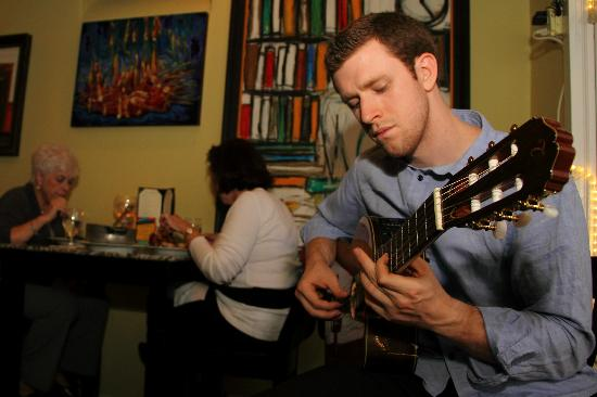 Kiosco: Live Music By Trevor Wolford once a month