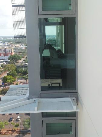 One30 Esplanade: Looking from Main Balcony to Master