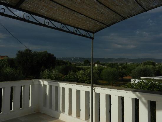 Masseria Don Luigi: Sicht von Terrasse