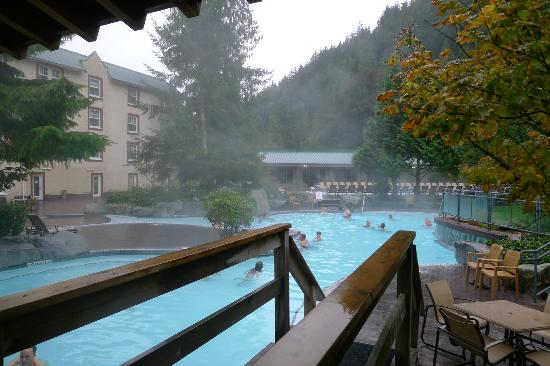 ‪‪Harrison Hot Springs Resort & Spa‬: 外湯