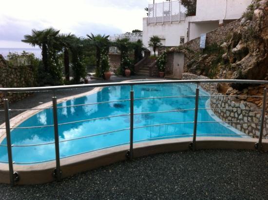 Hotel La Floridiana: la piscina