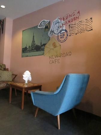 Feung Nakorn Balcony Rooms & Cafe: the cafe
