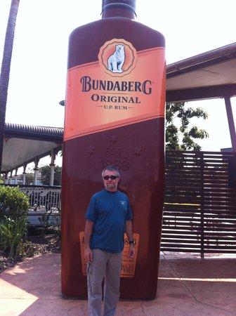 Bundaberg Rum Distillery: Always something big in Qld