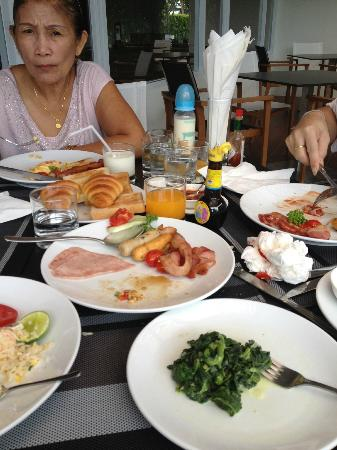 Mida De Sea Hua Hin: Breakfast A la carte