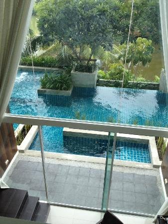Mida De Sea Hua Hin: view form the bedroom up stair
