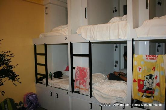 Wink Hostel: Kamar dengan 10 Pods