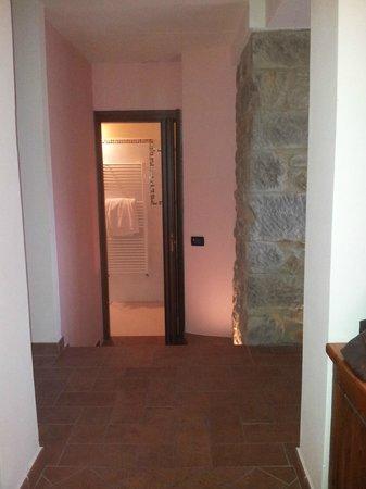 Hotel Bellavista: Corridoio dello scrittoio ed ingresso bagno