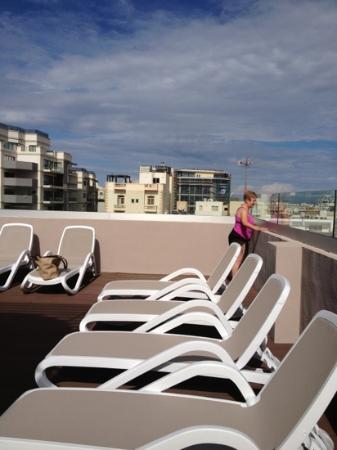 Argento Hotel: the sun terrace