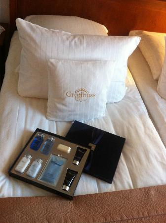 ‪‪Grotthuss Hotel‬: Chopard amenities in all Suite rooms‬
