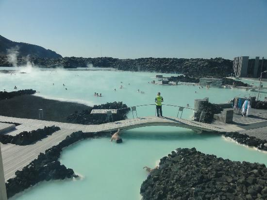 Hotel Berg: Blue lagoon