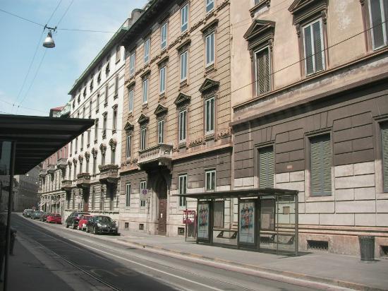 Antica Locanda Leonardo: Hotel front