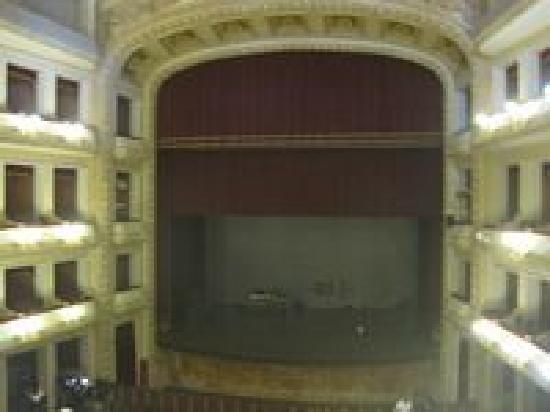 Teatro Francesco Cilea : palcoscenico dai palchi..