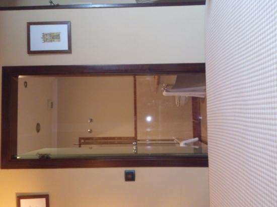 Hotel Rua Villar: entrada baño