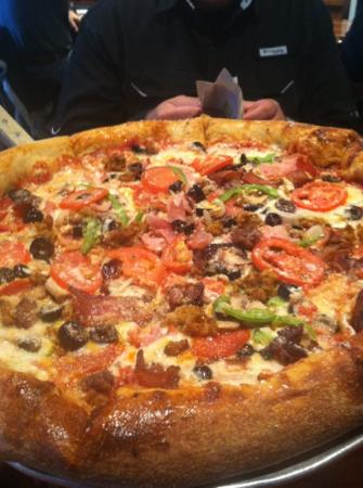 Mellow Mushroom: the House Special pizza