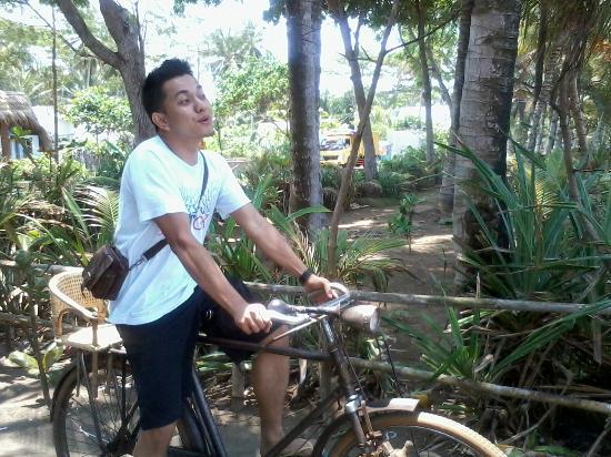 Villa Monyet Java: bersepeda