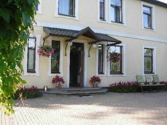 Livonija : the entrance of the B&B