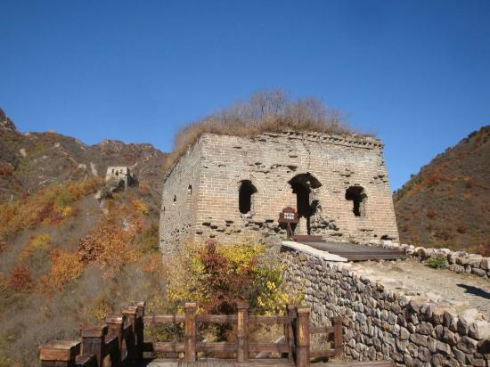 Qingshan Pass Great Wall: Qing Shangguan Great Wall
