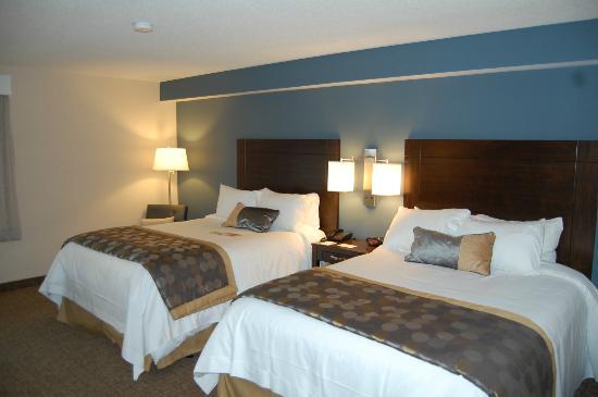 Wyndham Garden Niagara Falls Fallsview: Camas confortables