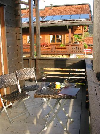 Hotel Zum Postillion: Balkonblick zum Nachbarn