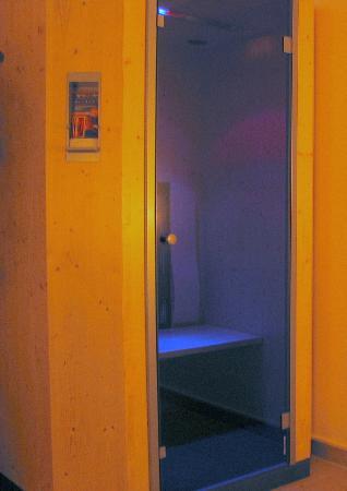 Hotel Zum Postillion: Infrarotkabine im Wellnessbereich