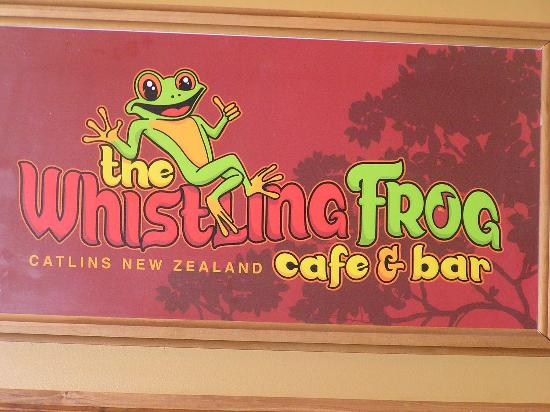 Whistling Frog Cafe & Bar: Couldn't resist this charmer