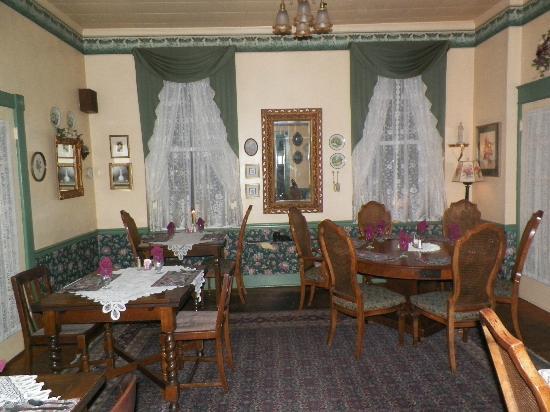 Hotel Strasburg: dining hall