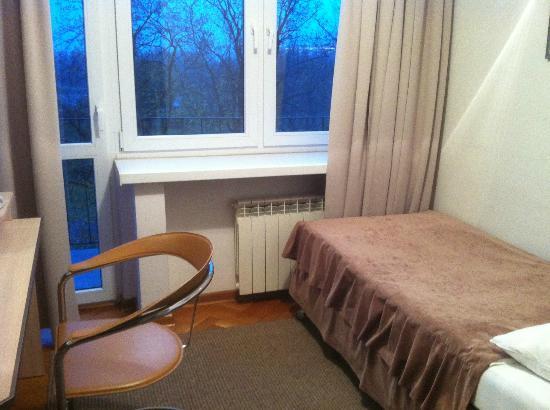 Logos Hotel: My small room :-)