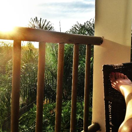 Fuego Lodge: afternoon nap in the balcony