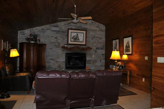 Alpine Hideaway: Living Room