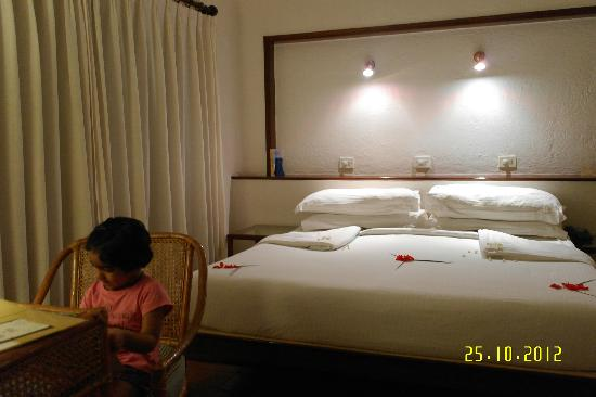Marari Beach Resort: Bed was comfortable
