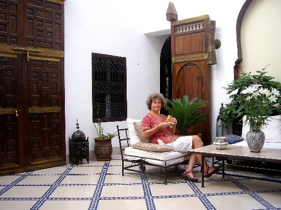 Riad Karmela: a very quiet space somewhere in the Riad
