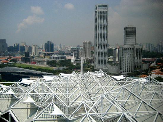 Conrad Centennial Singapore: View from living room of Ambassador Suite