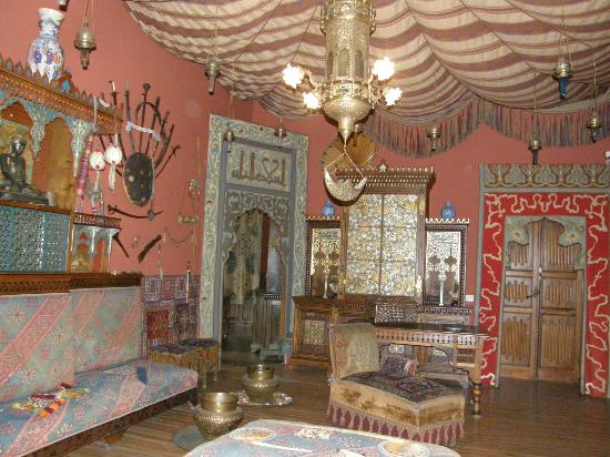 Castello d'Albertis: The Turkish room