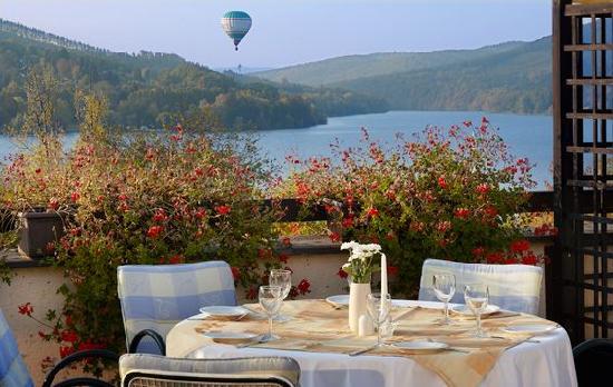 Orea Resort Santon : Hotel terrace