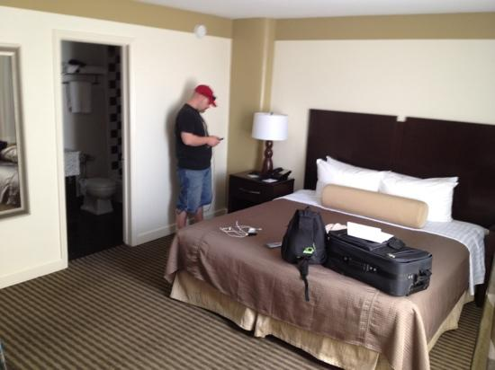 BEST WESTERN River North Hotel: our room