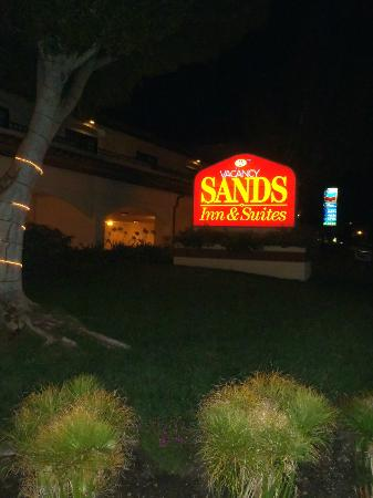 Sands Inn & Suites: entrée