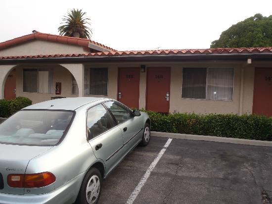 Sands Inn & Suites: chambre extérieure