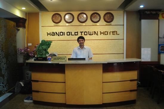 Hanoi Old Town Hotel: Reception