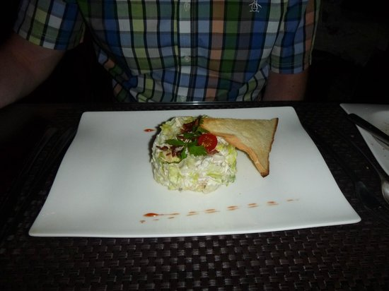 L'entrecote Steak House: ceasar salad