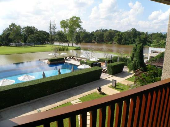 Le Meridien Chiang Rai Resort: View from Balcony