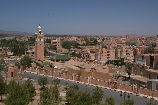 upper view of ouarzazate